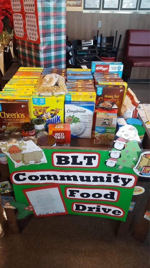 BLT Community Food Drive